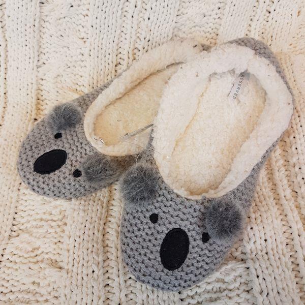 Kapcie RESERVED rozmiar M, koala
