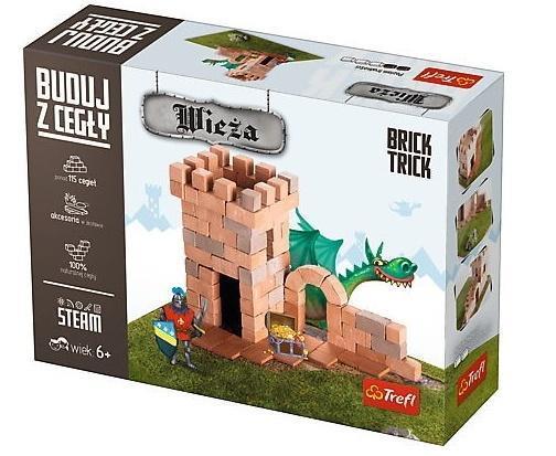 Brick Trick - buduj z cegły Wieża TREFL