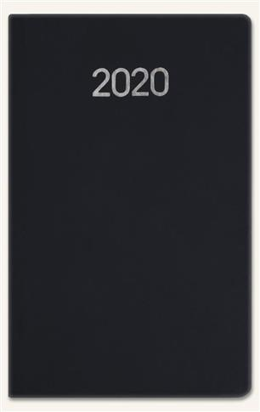Kalendarz 2020 Notesowy A6 Classic czarny soft