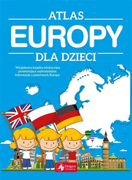 Atlas Europy dla dzieci w.2019