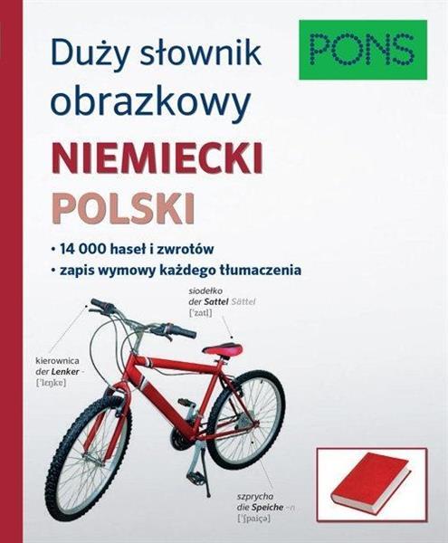 Duży słownik obrazkowy niem-pol PONS