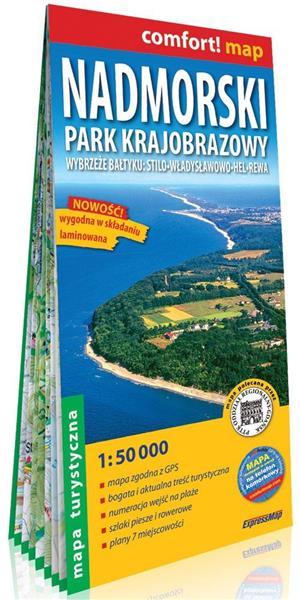 Comfort! map Nadmorski Park Krajobrazowy 1:50 000