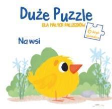 Duże puzzle dla małych paluszków - Na wsi