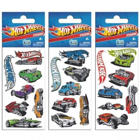 Naklejki Sticker BOO silver Hot Wheels
