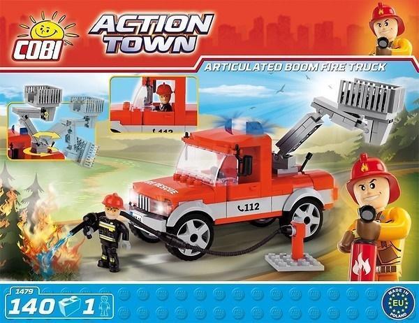 Action Town Ciężarówka straży pożarnej z koszem