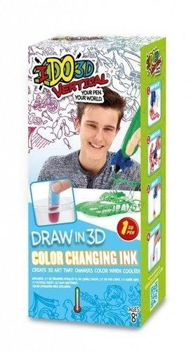IDO3D Vertical zestaw 1-długopis zmienijący kolor