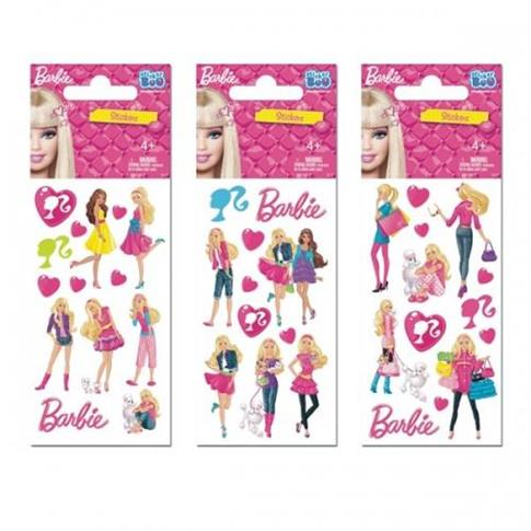 Naklejki Sticker BOO laser Barbie mix