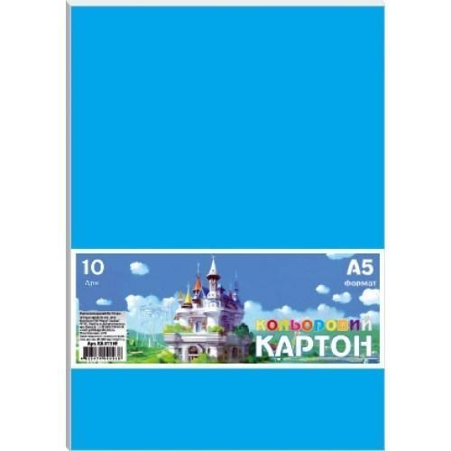 Karton kolorowy A5/10 arkuszy 230g/m2 FRESH