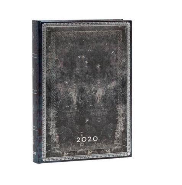 Kalendarz książkowy midi 2020 12M Midnight Steel