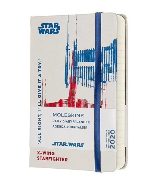 Kalendarz 2020 dzienny 12MP tw. Star Wars