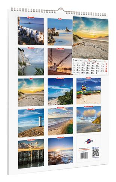 Kalendarz BAŁTYK A3-12 OUTLET