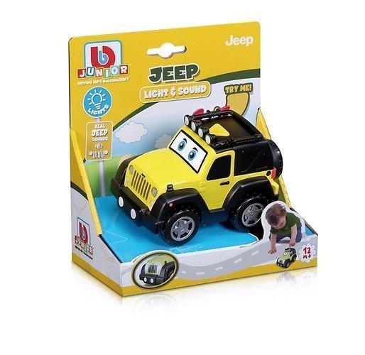 BB Junior Jeep Samochód Światło i dźwięk