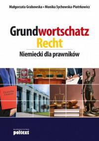 GRUNDWORTSCHATZ RECHT NIEMIECKI DLA PRAW. outlet