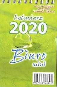 Kalendarz 2020 Biurkowy stojący Mini ANIEW