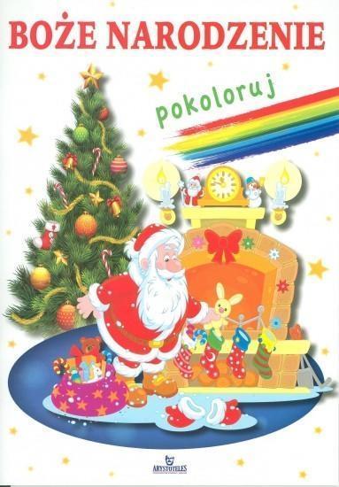 Boże Narodzenie. Pokoloruj
