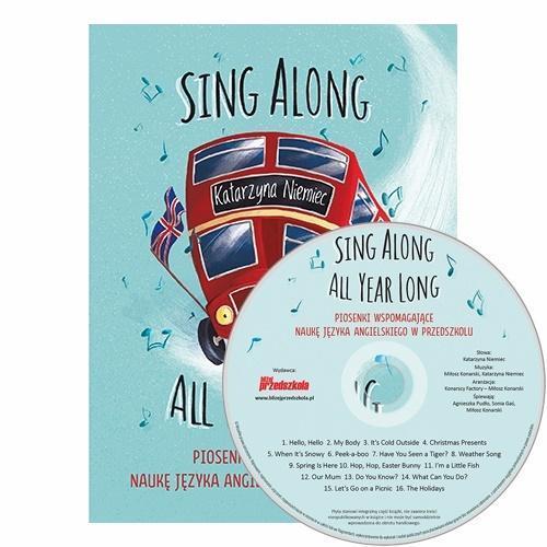 Sing Along All Year Long piosenki do nauki j. ang.