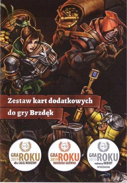 Brzdęk - karty promo