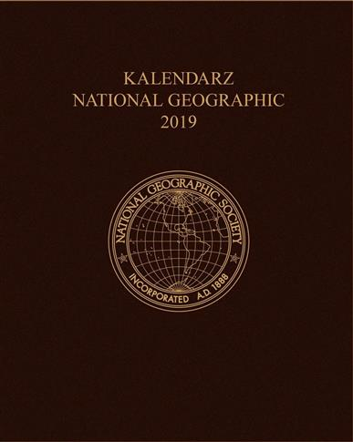 KALENDARZ 2019 NATIONAL GEOGRAPHIC BRĄZOWY OUTLET