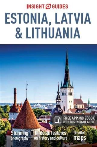 ESTONIA LATVIA AND LITHUANIA INSIGHT GUIDES outlet