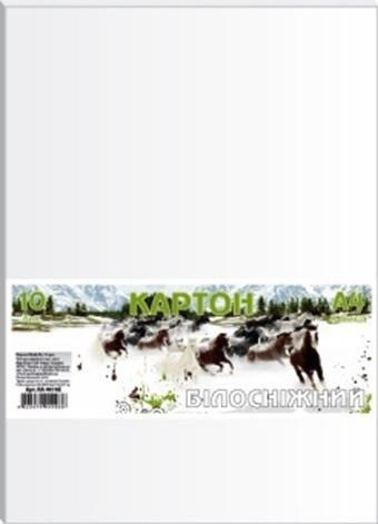 Karton biały A4/10 arkuszy 230g/m2 FRESH