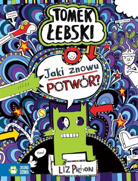 Tomek Łebski. Jaki znowu potwór? t.15