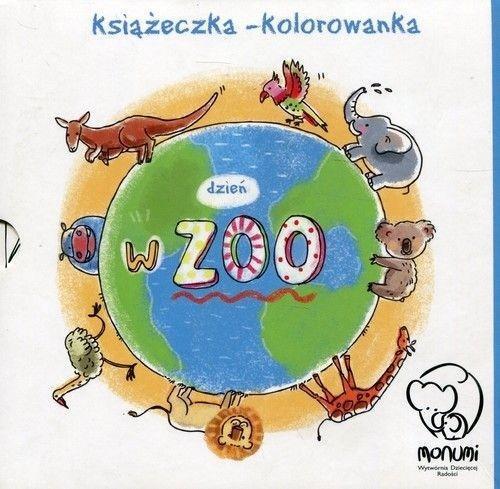 Książeczka - kolorowanka. Dzień w Zoo