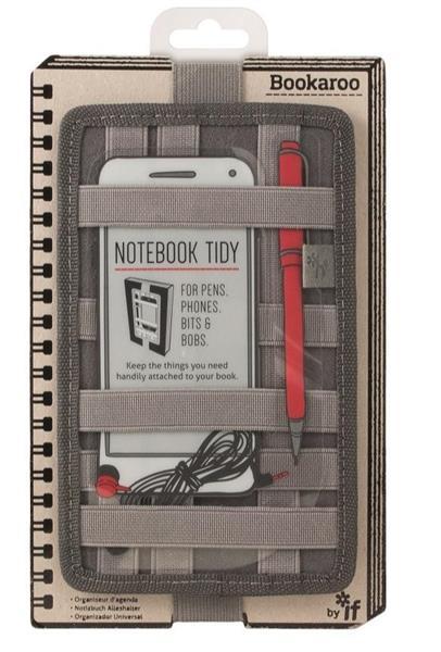 Bookaroo Notebook Tidy Organizer na notes szary