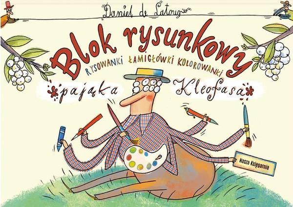 Blok rysunkowy. Pająka Kleofasa blok rysunkowy