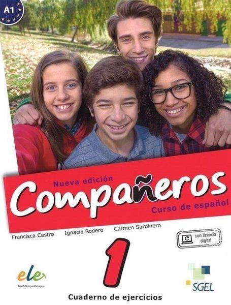 Companeros 1 ćwiczenia + licencia digital