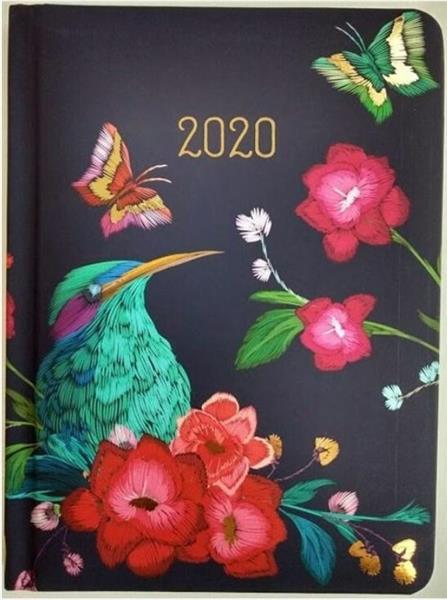 Kalendarz tygodniowy B6 2020 Zimorodek ALBI