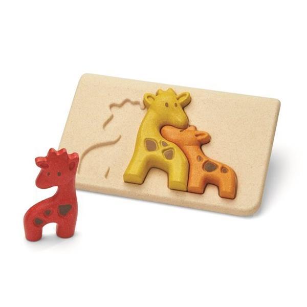 Puzzle drewniane Żyrafy