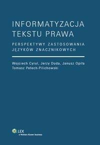 Informatyzacja tekstu prawa