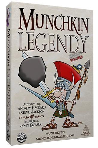 Munchkin Legendy BLACK MONK