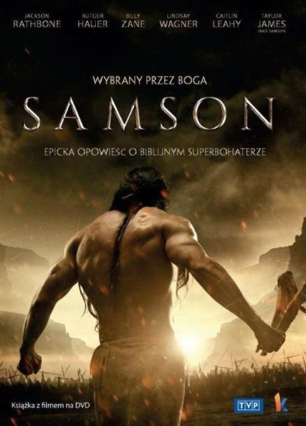 Samson. Wybrany przez Boga - książka + DVD