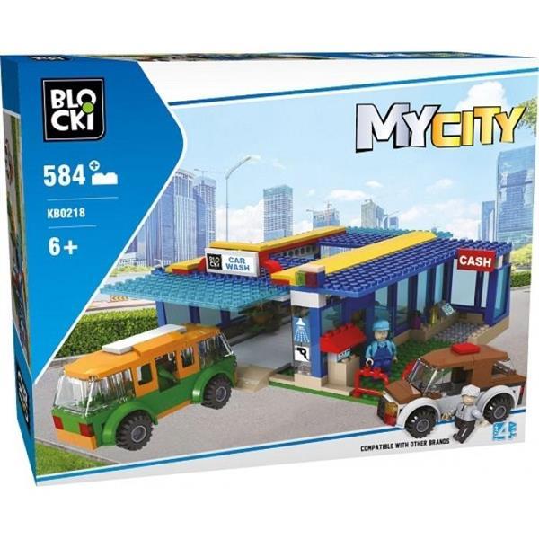 Klocki Blocki MyCity Myjnia 584 el.