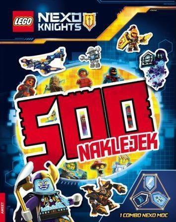 500 naklejek. LEGO (R) Nexo Knights