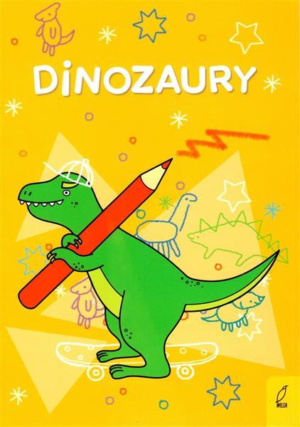 Dinozaury - kolorowanka
