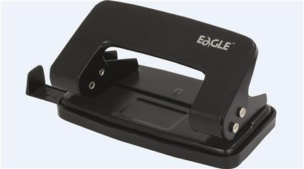 Dziurkacz 709 R czarny 8 kartek EAGLE