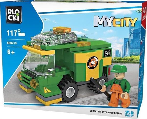 Klocki Blocki MyCity Śmieciarka 117 el.