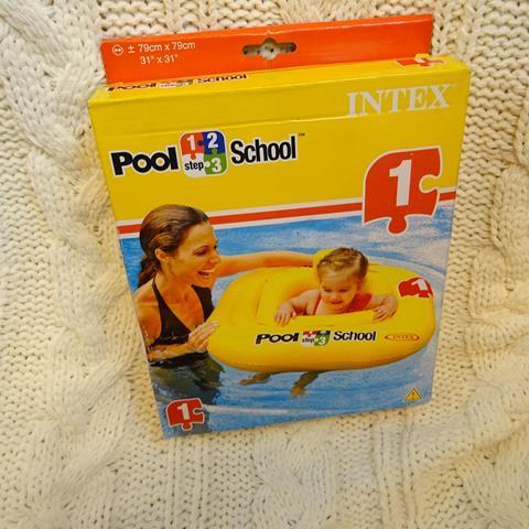 Nadmuchiwane siedzenie POOL-SCHOOL. INTEX