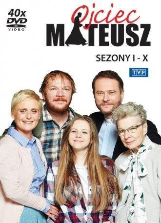Ojciec Mateusz. Sezony 1-10 - BOX 40 DVD