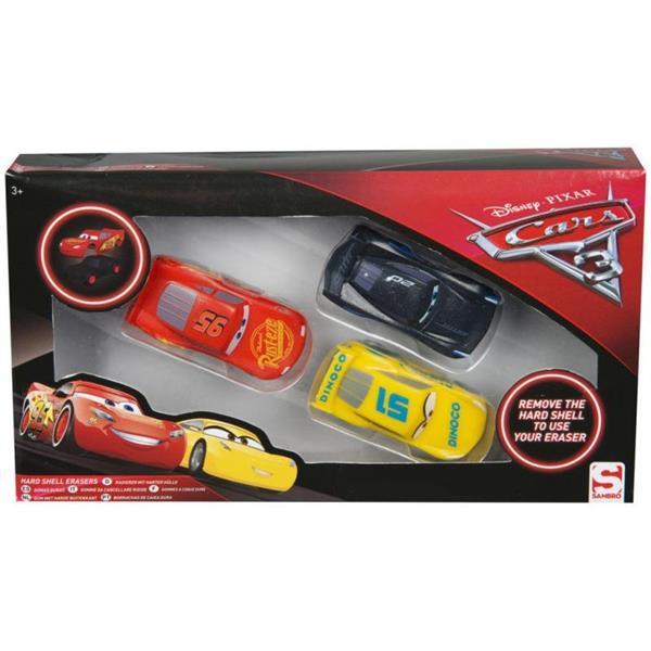 Figurki - gumki do mazania Cars 3/PAK