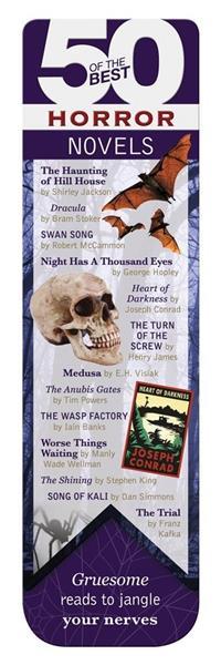 50 BEST - Horror - magnetyczna zakładka do książki
