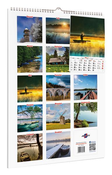 Kalendarz MAZURY A3-11 OUTLET