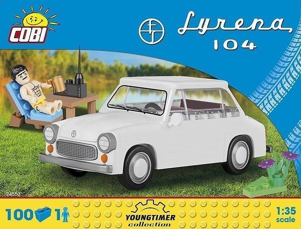 Cars Syrenka 104 + akcesoria 100 klocków