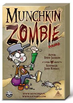 Munchkin Zombie BLACK MONK