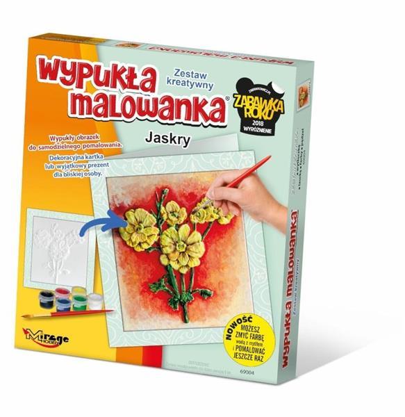 Wypukła Malowanka - Kwiaty Jaskry