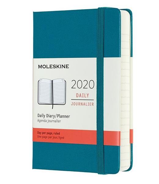 Kalendarz 2020 dzienny 12MP tw. Magnetic green
