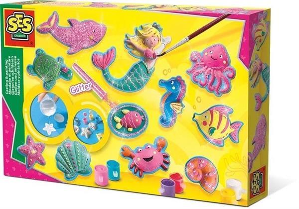 Odlewy gipsowe - figurki z Oceanu