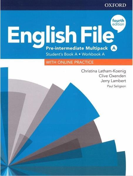 English File 4E Pre-Interm. Multipack A + online